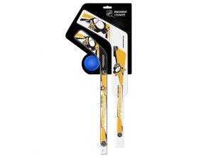 Plastiková minihokejka Pittsburgh Penguins Breakaway pack