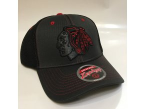 Kšiltovka Chicago Blackhawks Zephyr Blacklight Original Snapback