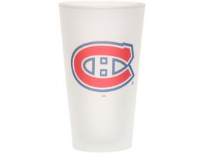 Sklenice Montreal Canadiens Frosted Pint Glass