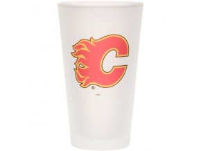 Sklenice Calgary Flames Frosted Pint Glass