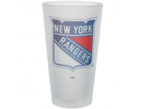 Sklenice New York Rangers Frosted Pint Glass