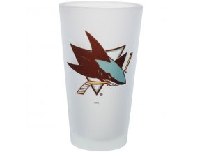 Sklenice San Jose Sharks Frosted Pint Glass