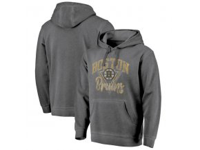 Mikina Boston Bruins Shadow Washed Retro Arch Pullover Hoodie