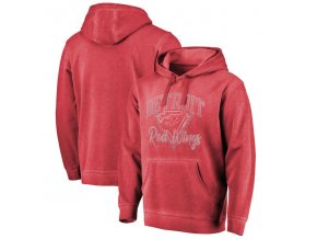 Mikina Detroit Red Wings Shadow Washed Retro Arch Pullover Hoodie