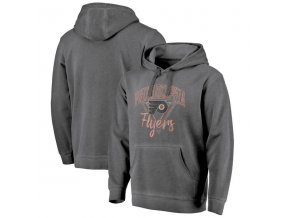 Mikina Philadelphia Flyers Shadow Washed Retro Arch Pullover Hoodie