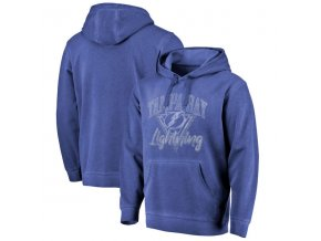 Mikina Tampa Bay Lightning Shadow Washed Retro Arch Pullover Hoodie