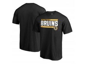Tričko Boston Bruins Iconic Collection On Side Stripe