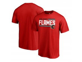 Tričko Calgary Flames Iconic Collection On Side Stripe