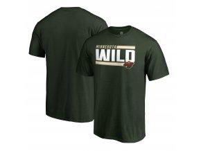 Tričko Minnesota Wild Iconic Collection On Side Stripe