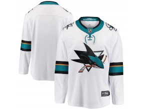 Dres San Jose Sharks Breakaway Away Jersey