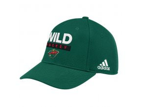 Kšiltovka Minnesota Wild 2018 Stanley Cup Playoffs Bound Sidepatch Flex