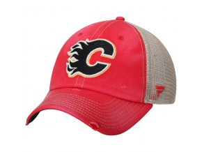 Kšiltovka Calgary Flames True Classic Washed Trucker