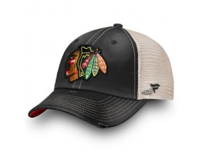 Kšiltovka Chicago Blackhawks True Classic Washed Trucker