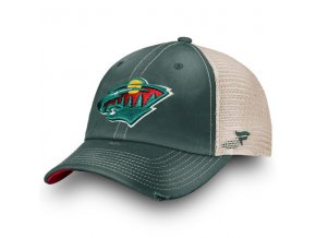 Kšiltovka Minnesota Wild True Classic Washed Trucker