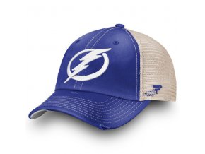Kšiltovka Tampa Bay Lightning True Classic Washed Trucker