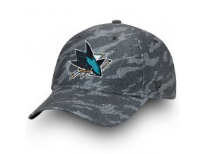 Kšiltovka San Jose Sharks Made2Move Camo Flex