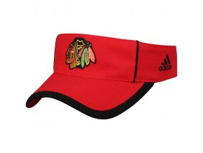 Kšilt Chicago Blackhawks Adidas NHL Visor