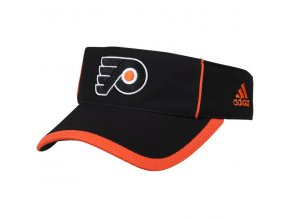 Kšilt Philadelphia Flyers Adidas NHL Visor