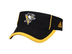 Kšilt Pittsburgh Penguins Adidas NHL Visor