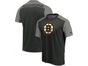 Tričko Boston Bruins Iconic Blocked