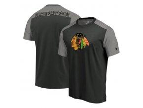 Tričko Chicago Blackhawks Iconic Blocked