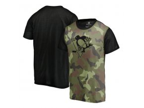Tričko Pittsburgh Penguins Camo Blast