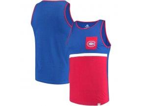 Tílko Montreal Canadiens Color Block Pocket