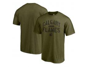 Tričko Calgary Flames Camo Jungle