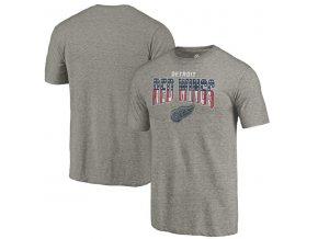 Tričko Detroit Red Wings Freedom Tri-Blend
