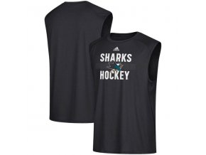 Tílko San Jose Sharks Puck Side Climalite Tank Top