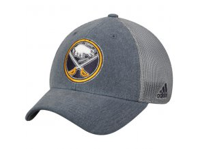 Kšiltovka Buffalo Sabres Adidas Sun Bleached Meshback Flex