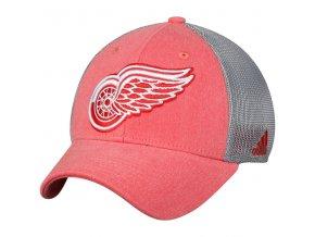 Kšiltovka Detroit Red Wings Adidas Sun Bleached Meshback Flex