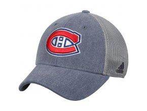 Kšiltovka Montreal Canadiens Adidas Sun Bleached Meshback Flex