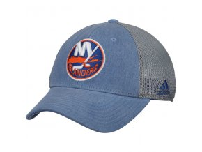Kšiltovka New York Islanders Adidas Sun Bleached Meshback Flex