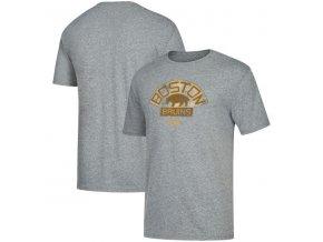 Tričko Boston Bruins Heritage Logo Series Tri-Blend