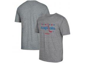 Tričko Washington Capitals Heritage Logo Series Tri-Blend