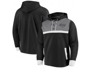 Mikina Los Angeles Kings True Classics 3-Button Pullover Hoodie