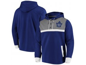 Mikina Toronto Maple Leafs True Classics 3-Button Pullover Hoodie