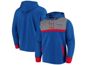 Mikina Washington Capitals True Classics 3-Button Pullover Hoodie
