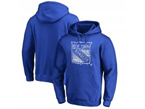 Mikina New York Rangers Hometown Collection Pullover Hoodie