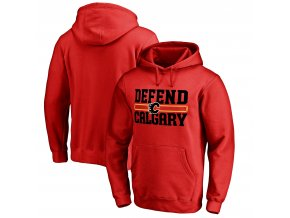 Mikina Calgary Flames Hometown Collection Defend Pullover Hoodie
