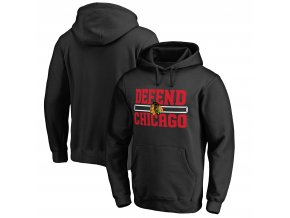 Mikina Chicago Blackhawks Hometown Collection Defend Pullover Hoodie