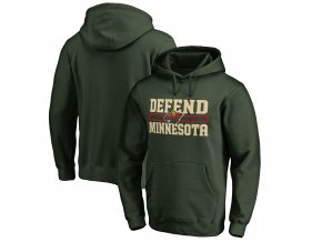 Mikina Minnesota Wild Hometown Collection Defend Pullover Hoodie