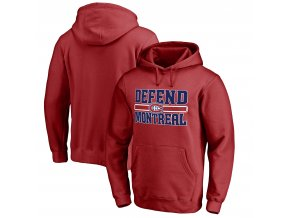 Mikina Montreal Canadiens Hometown Collection Defend Pullover Hoodie