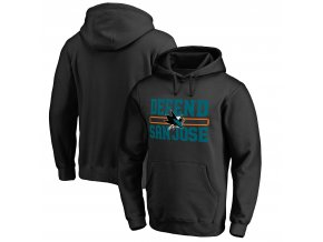 Mikina San Jose Sharks Hometown Collection Defend Pullover Hoodie