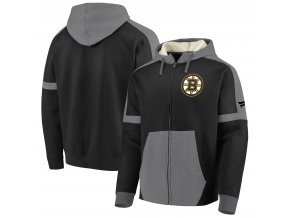 Mikina Boston Bruins Iconic Fleece Full-Zip Hoodie