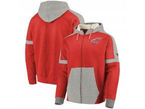 Mikina Detroit Red Wings Iconic Fleece Full-Zip Hoodie