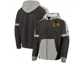 Mikina Chicago Blackhawks Iconic Fleece Full-Zip Hoodie