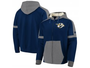 Mikina Nashville Predators Iconic Fleece Full-Zip Hoodie