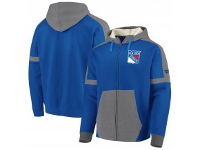 Mikina New York Rangers Iconic Fleece Full-Zip Hoodie